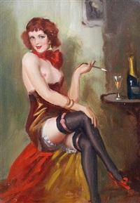 in the boudoir by gyula asztalos