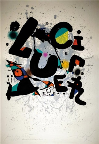 lucifer by joan miró