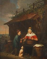 la poissonnière by alphonse cornet