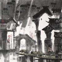 江南喜雨图 by xu xi