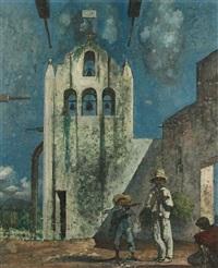 souvenir of amecameca (la capilla blanca) by eugene berman