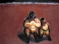 dos figuras by alfonso sucasas