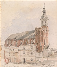 die pfarrkirche in troppau by jacob alt