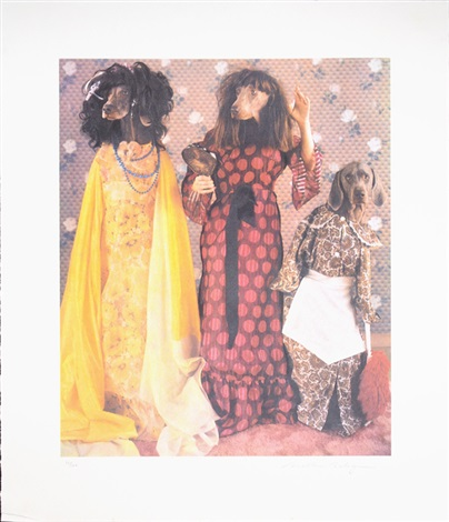 three stepsisters from cinderella suite by william wegman
