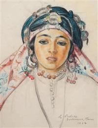 jeune berbère de boulemana au maroc by louis john endres