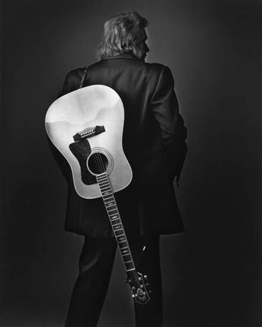 johnny cash in vegas (+ neil young in chicago; 2 works) by mark seliger