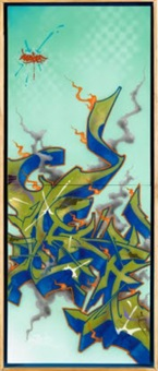 wish4 trippy wildstye (on 2 panels) by ces