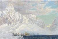 vue d'un fjord by anna boberg