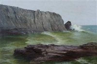 bald head cliff, ogunquit maine by eva ellsworth dungan