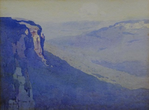 blue mountains by theodore penleigh boyd