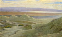 the jordan mountains and the dead sea by alfred edward emslie