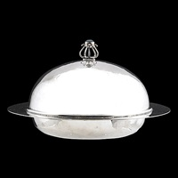 covered muffin dish by charles robert ashbee