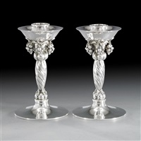 candlesticks by georg jensen (co.)