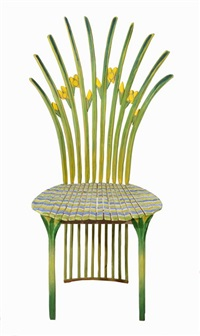 iris chair by gérard rigot