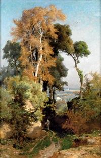 paysage d'iran by jules (joseph augustin) laurens