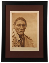 a cree, plate 626, a large format by edward sheriff curtis