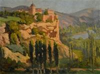 village de montagne by marie marguerite reol