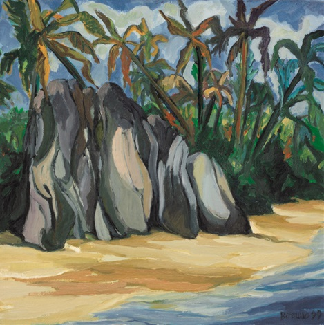 rocce a la digue by aurelia borruso