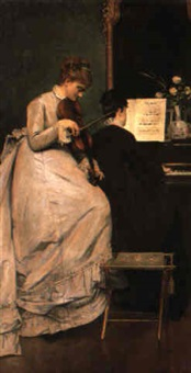 le duo by louis charles verwee