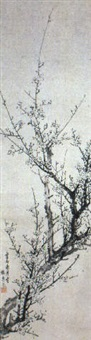 plum blossoms by yamamoto baiitsu