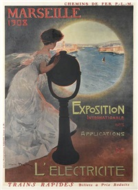 marseille 1908/exposition internationale des applications de l'electricite by mario pezilla