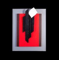 n°17 verticale noir by guy vogel