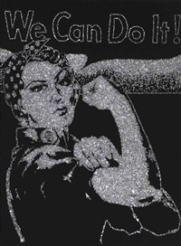 rosie the riveter by vik muniz