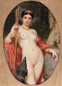 portrait de diane by alexandre cabanel
