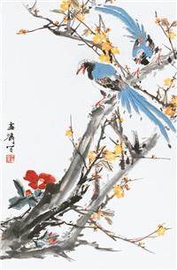 birds and flowers by wang xuetao