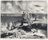 legs of the sea by george wesley bellows