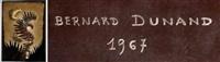 je raconterai toutes tes merveilles, panneau décoratif by bernard dunand