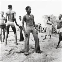 a la baignade au fleuve niger by malick sidibé