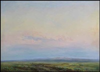 prairie scene by orestes (rick) nicholas de grandmaison