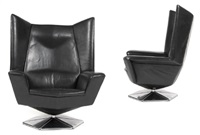 prisma swivel chair (+ another; pair) by voitto haapalainen