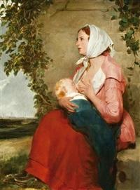 anya gyermekével by carl von kratzer