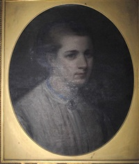 portrait of the hon. mildred mary fortescue, mrs. adams by jane fortescue seymour