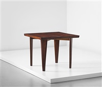 square table, model no. pj-ta-04-a, designed for private residences, chandigarh by pierre jeanneret
