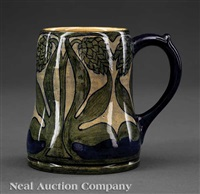 mug decorated by marie de hoa leblanc by newcomb college pottery