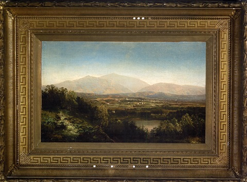 view of the white mountains by john william casilear