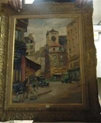 rue de paris by lucien-hector jonas