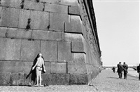 peter and paul fortress by the neva river, leningrad (st. petersburg) by henri cartier-bresson