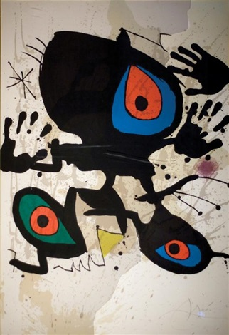 homage to joan miro by joan miró