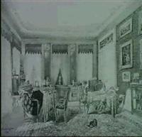 wohnzimmer-interieur by carl hauser