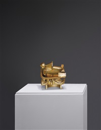 small bronze n (b.1602) by anthony caro