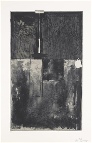 zone black state by jasper johns