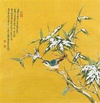 雪竹 by ren zhong