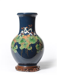 vase by ando cloisonne (co.)