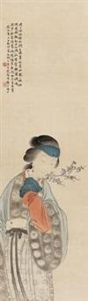 赏梅图 by wu qingxia