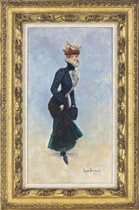 a parisian beauty by jean béraud