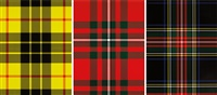 tartan (set of 3 works) by sarah charlesworth